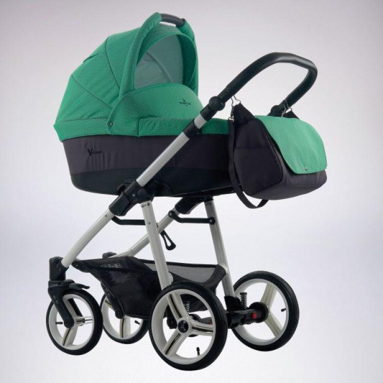 Bebetto Vulcano kolica za bebe, set 2u1
