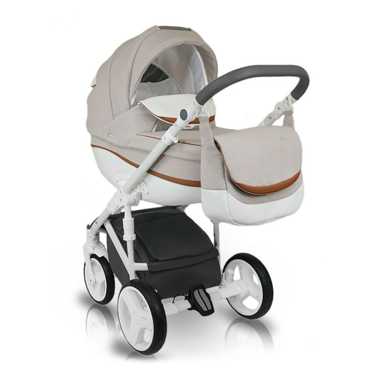 BEXA IDEAL NEW kolica za bebe, set 3u1 - Kolica za bebe