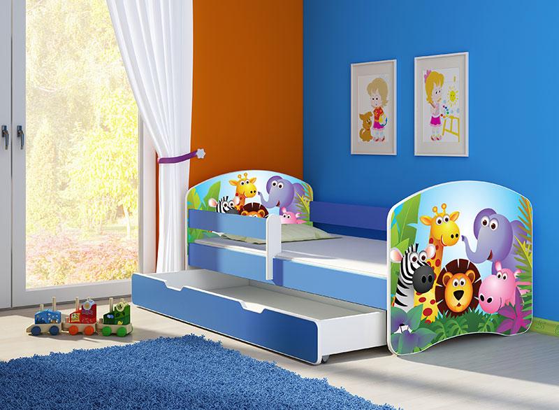 Krevet za decu Blue sa fiokom 160x80 acma 2