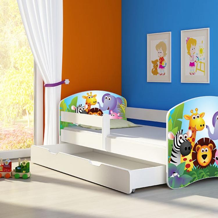 Krevet za decu White sa fiokom 160x80 acma 2