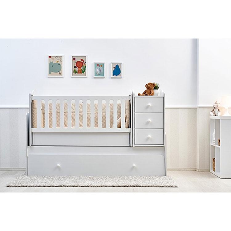''NOVA'' 5u1 krevetac za bebe beli