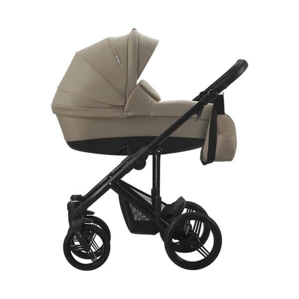 Bebetto Magnum kolica za bebe crni ram, set 3u1