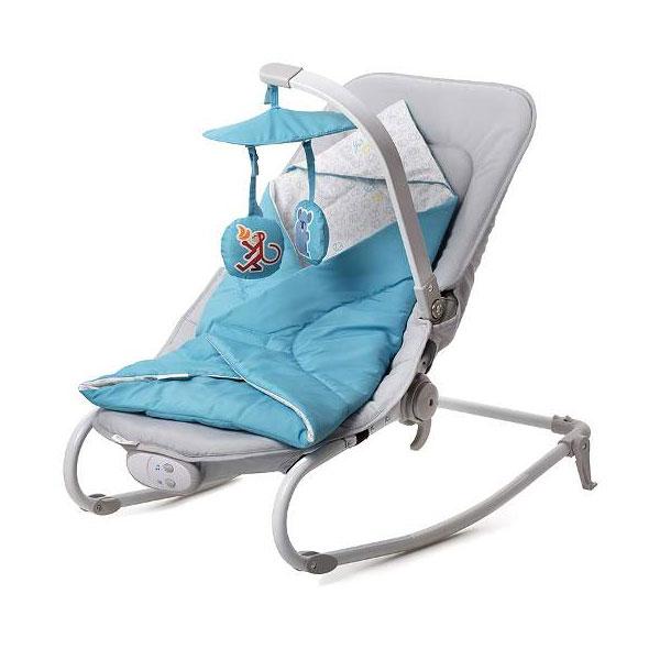Kinderkraft stolica za ljuljanje FELIO blue