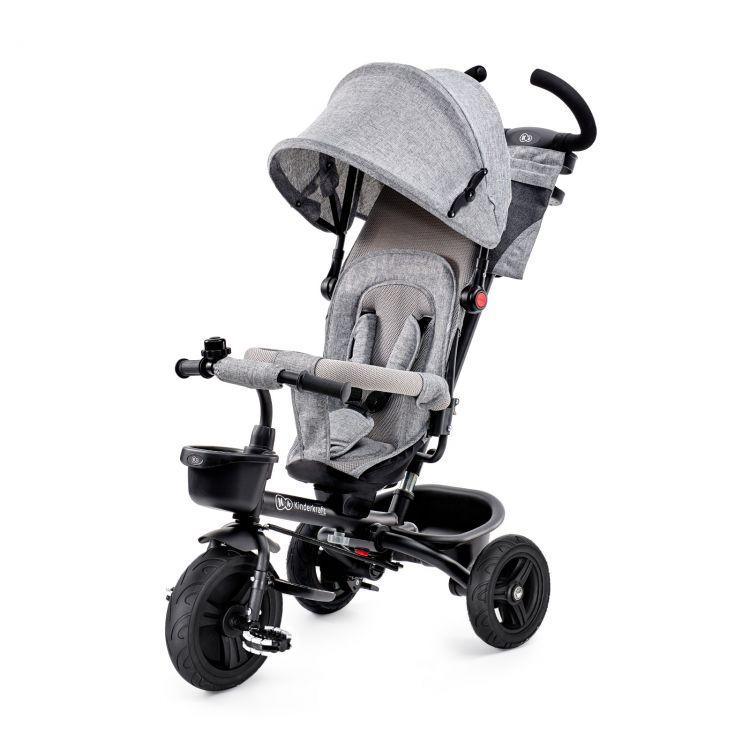 Kinderkraft tricikl AVEO 2u1 grey