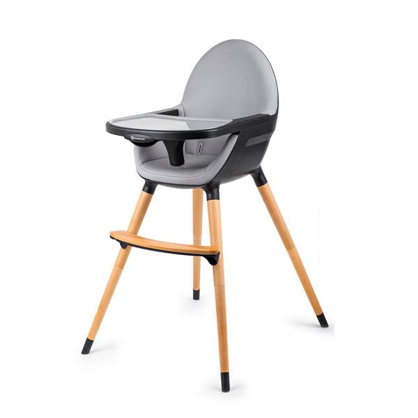 Kinderkraft High stolica za hranjenje 2u1 FINI black