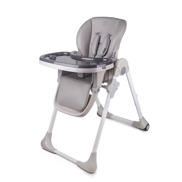 Kinderkraft stolica za hranjenje YUMMY grey - Kolica za bebe