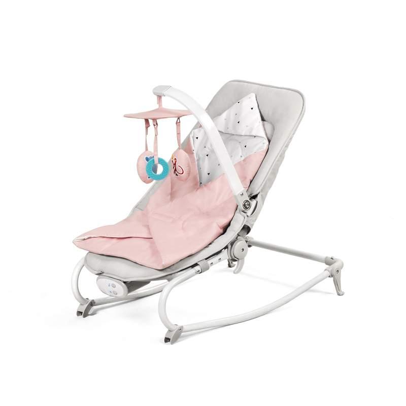 Kinderkraft stolica za ljuljanje FELIO pink