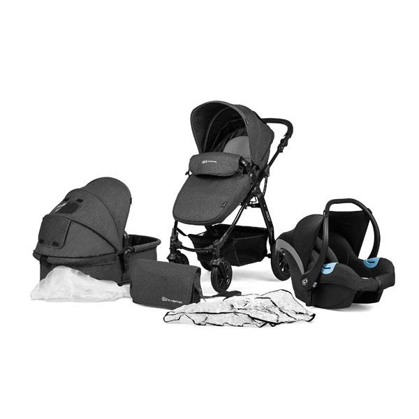 Kinderkraft MOOV kolica za bebe 3u1 black