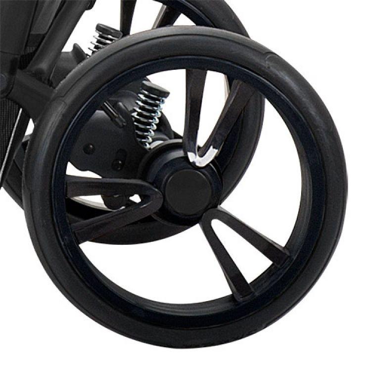 Zadnji točak za kolica – crni