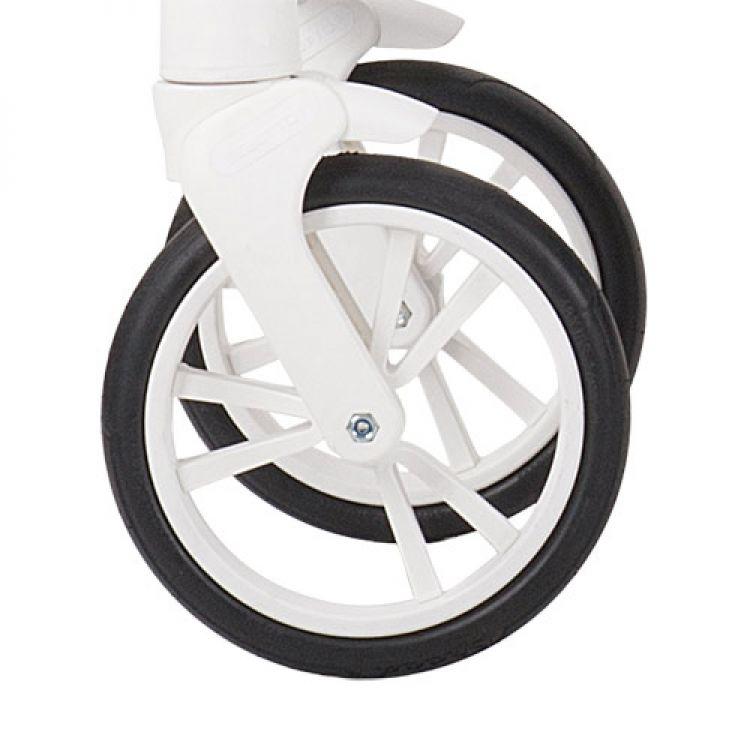 Prednji točak za kolica - beli
