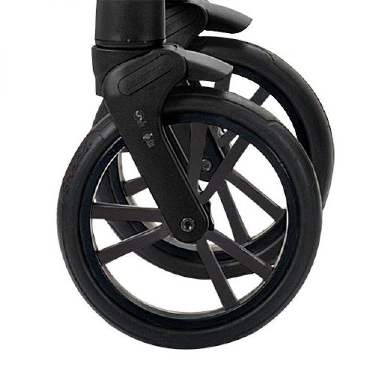 Prednji točak za kolica - crni