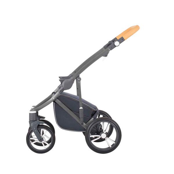 Bebetto Bresso ram kolica za bebe - sivi
