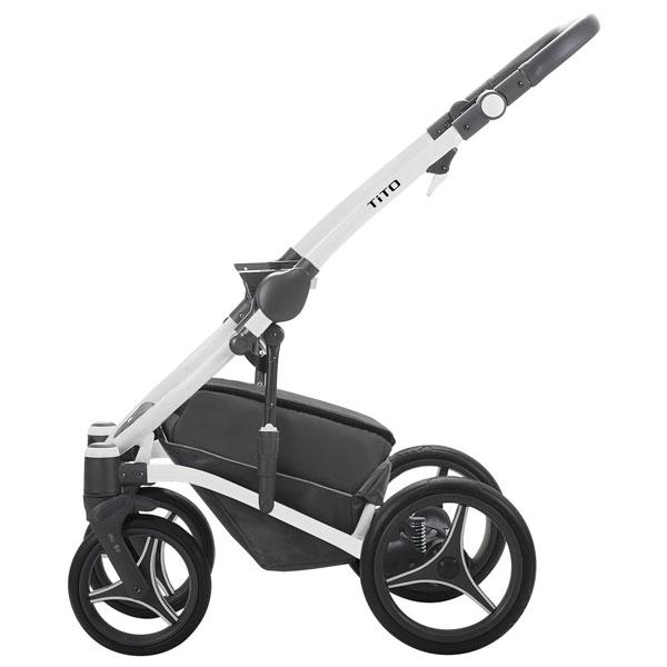 Bebetto Tito CH ram kolica za bebe - beli