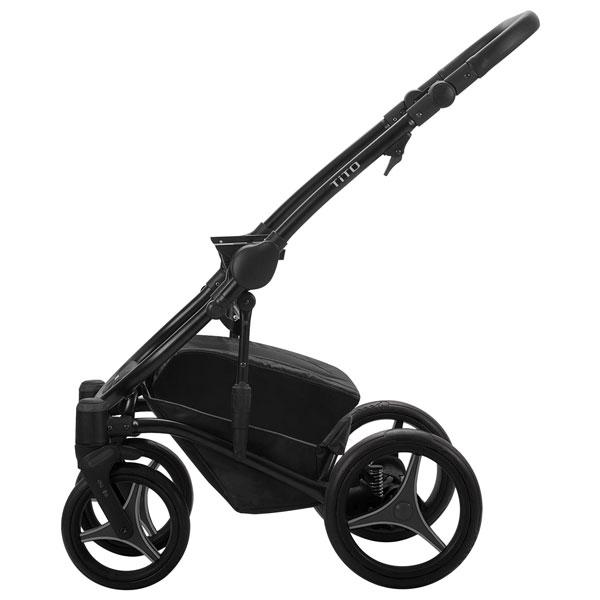 Bebetto Tito ram kolica za bebe - crni