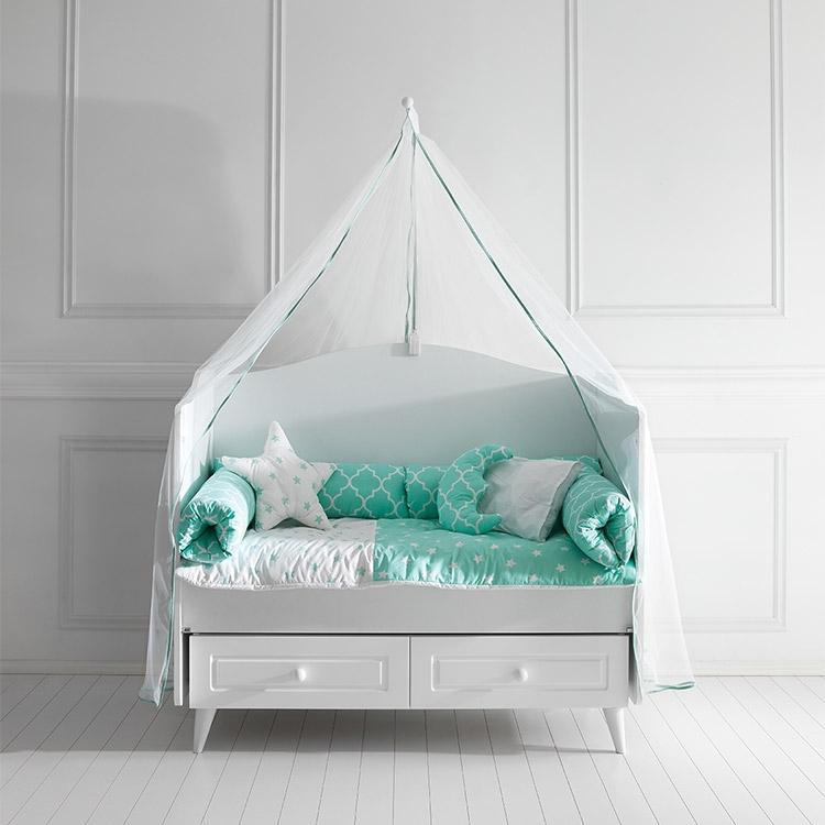 Posteljina za bebi krevetac BONY Mint 120X60cm