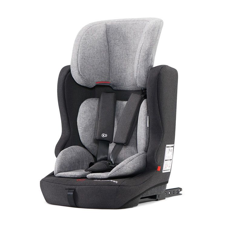 Kinderkraft auto sedište ISOFIX FIX2GO black-grey 9-36kg