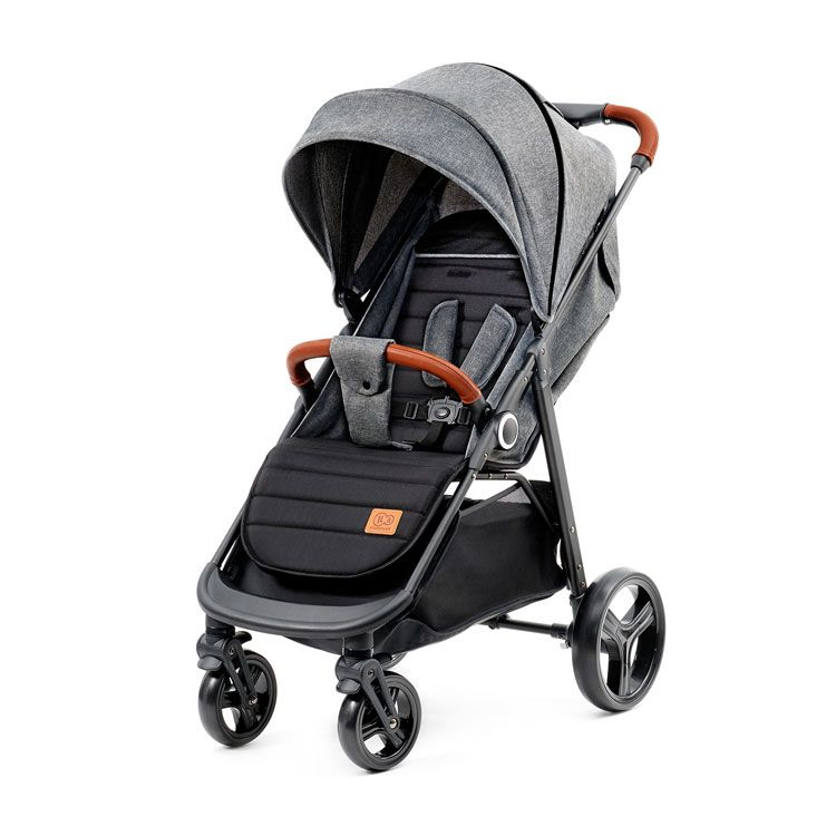 KINDERKRAFT GRANDE kolica za bebe grey