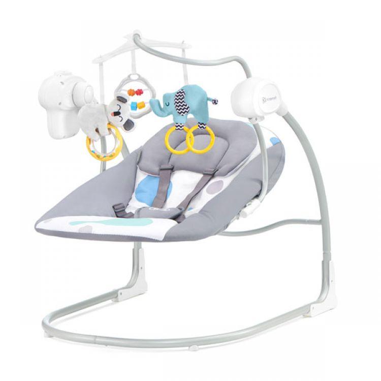 Kinderkraft stolica za ljuljanje MINKY mint