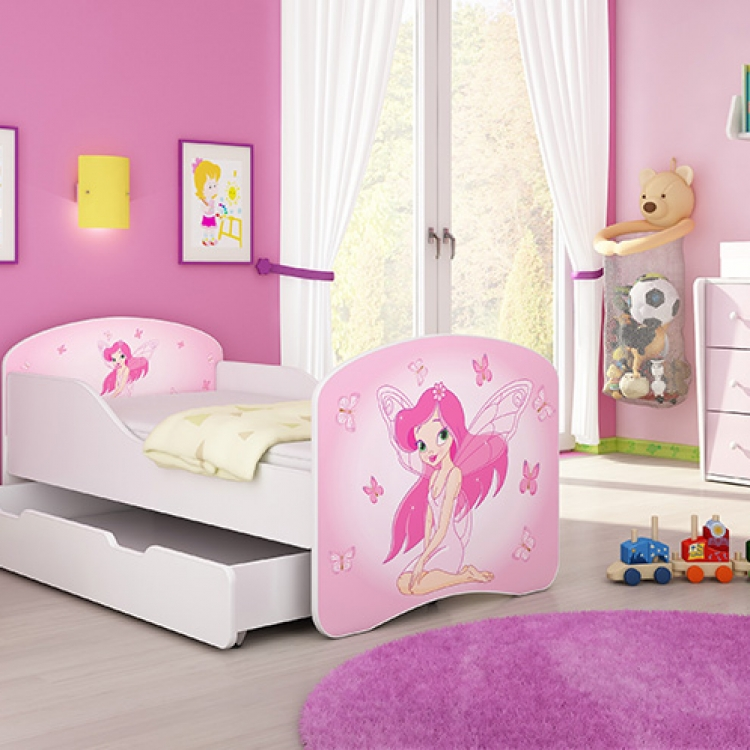 Krevet za decu 180x80 cm sa dodatnom fiokom acma 1