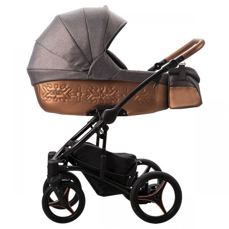 Bebetto Tito SHINE kolica za bebe set 2u1