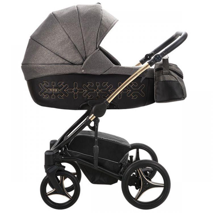 Bebetto Tito SHINE kolica za bebe set 3u1