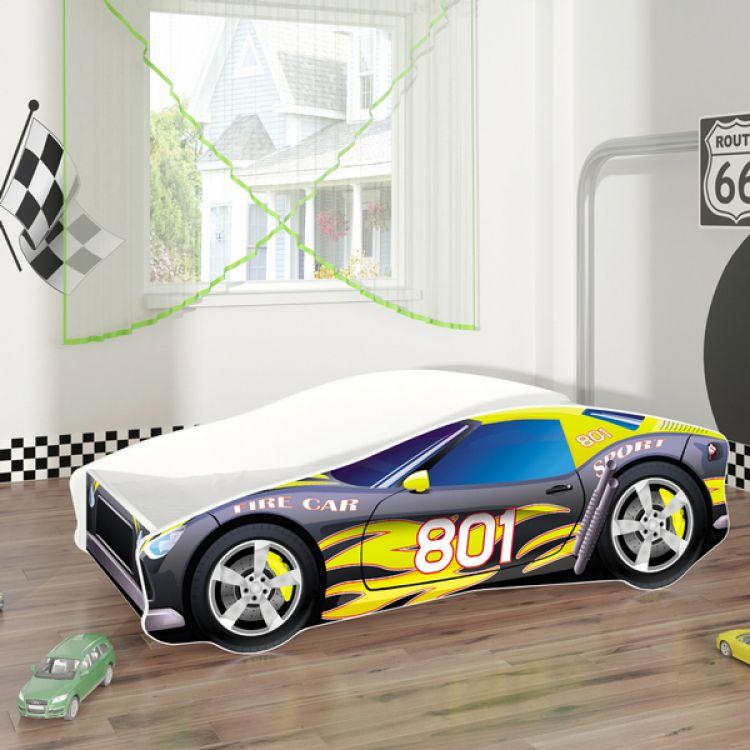 Krevet za decu AUTOMOBIL 180x80 cm