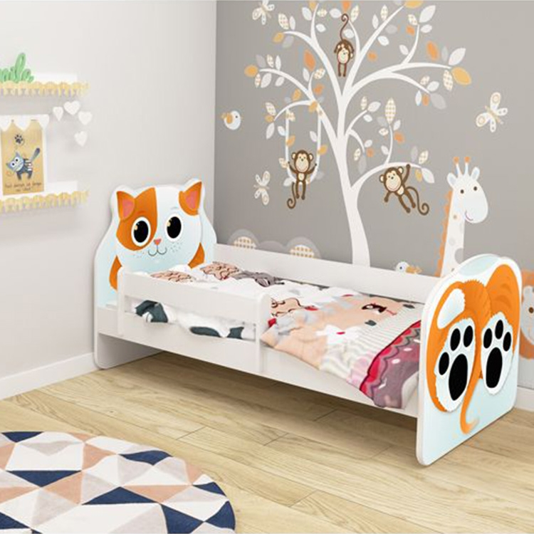 Krevet za decu ANIMALS 160x80 cm White acma VII - Kolica za bebe