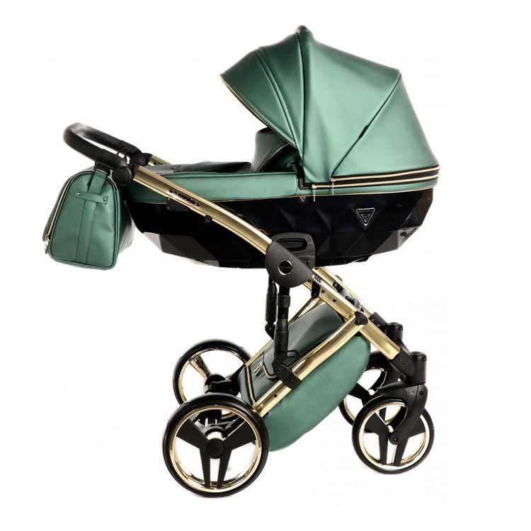 Junama Fluo Line kolica za bebe set 3u1