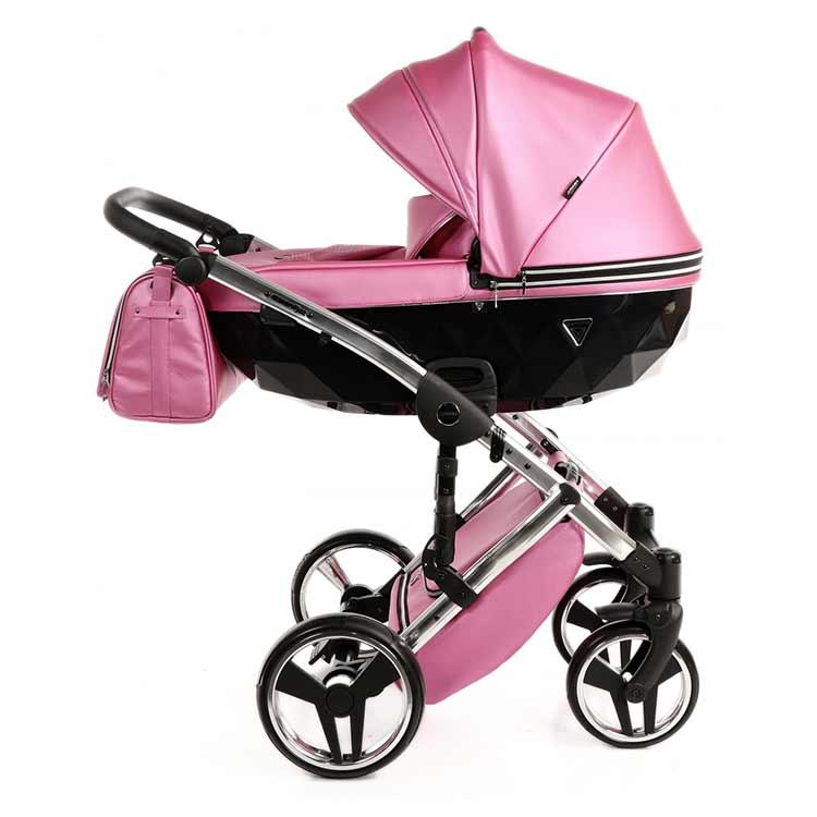 Junama Fluo Line kolica za bebe set 2u1