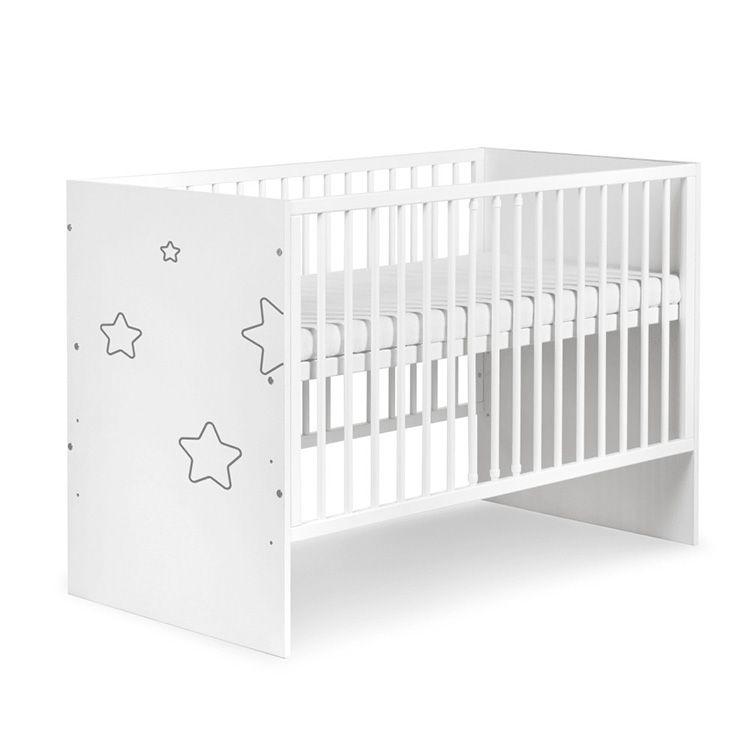 TINO STARS krevetac za bebe 120x60 cm
