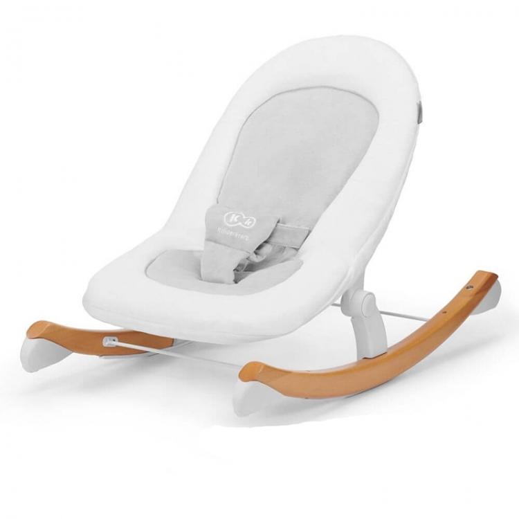 Kinderkraft stolica za ljuljanje finio white