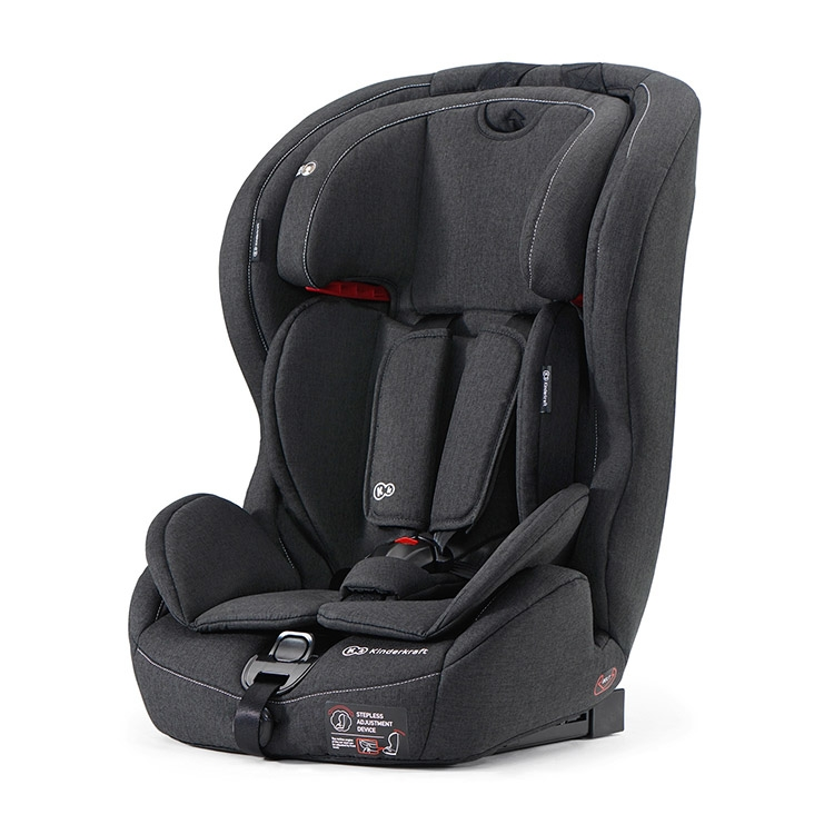 Kinderkraft auto sedište safety-fix isofix black