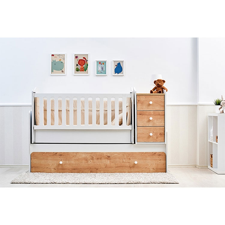 ''NOVA'' 5u1 krevetac za bebe bež-beli