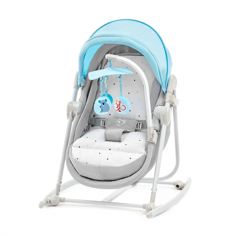 KINDERKRAFT STOLICA ZA LJULJANJE 5U1 UNIMO LIGHT BLUE