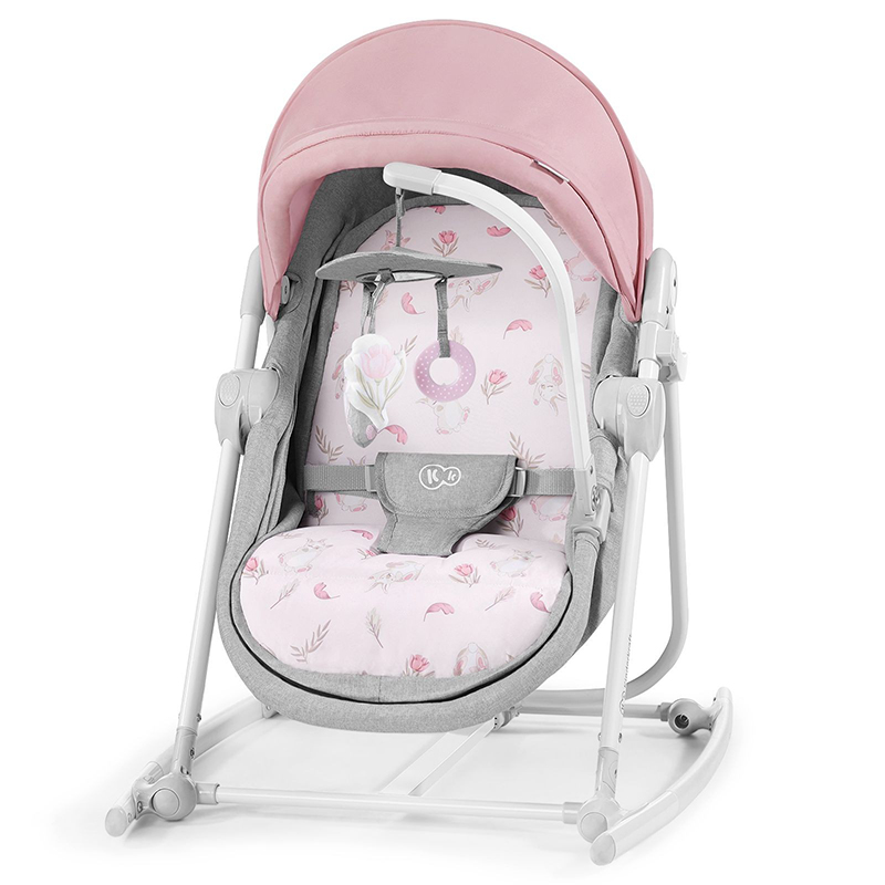 Kinderkraft stolica za ljuljanje 5u1 unimo peony rose 2020