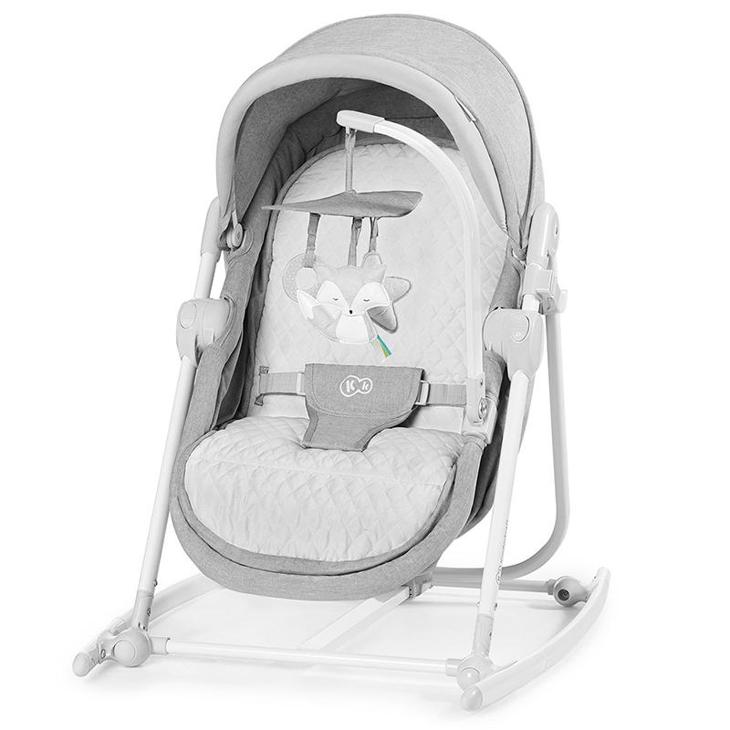 Kinderkraft stolica za ljuljanje 5u1 unimo stone grey 2020