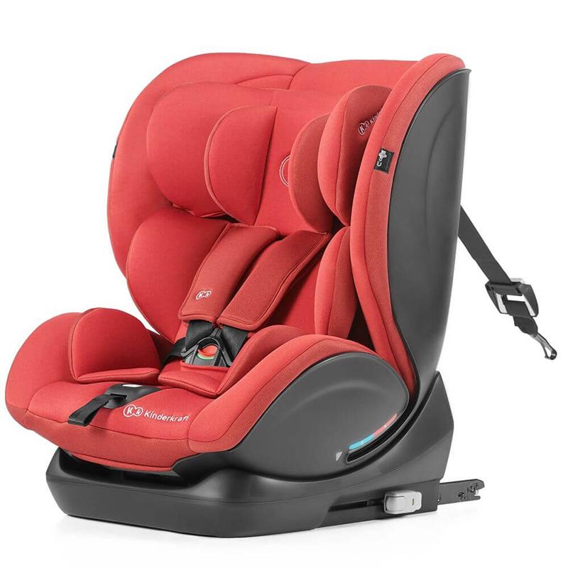 Kinderkraft auto sedište myway 0-36 kg isofix red