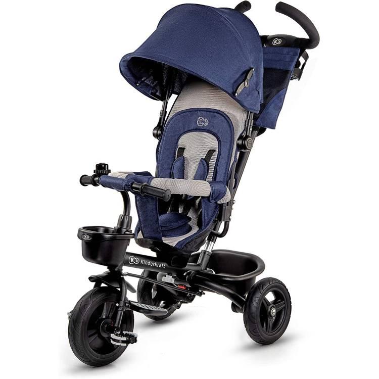 KINDERKRAFT TRICIKL AVEO 2U1 BLUE - Kolica za bebe